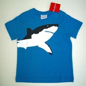 HANNA ANDERSSON NWT Shark T Shirt Sz 100 4